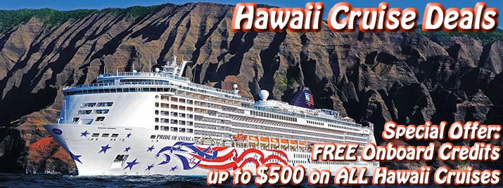 Hawaiian Cruise Deals Discount Hawaii Cruises - Hawaii cruise deals